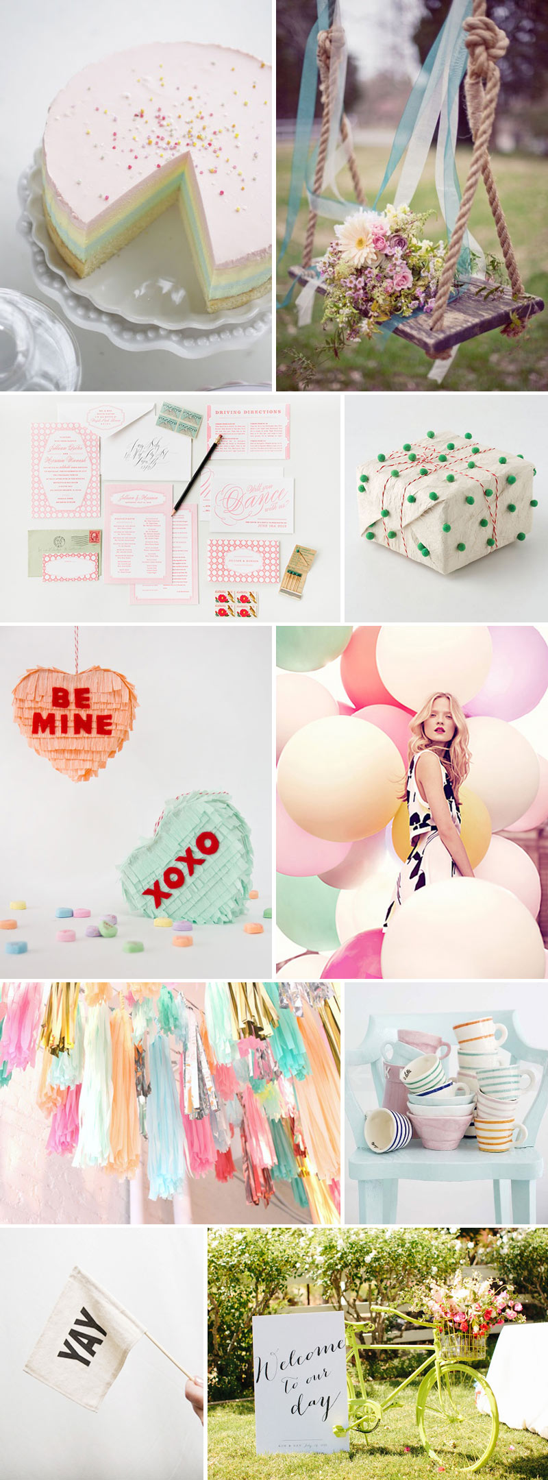 Delicious Decor Wedding Spring Inspiration