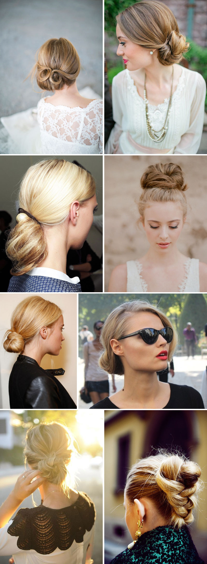 Chic Chignons Crowning Glory.