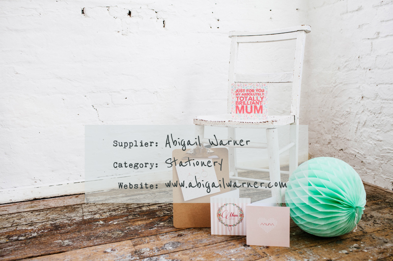 Abigail Warner Stationery