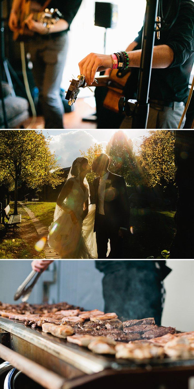 Sam Clayton Wedding Photography BBQ