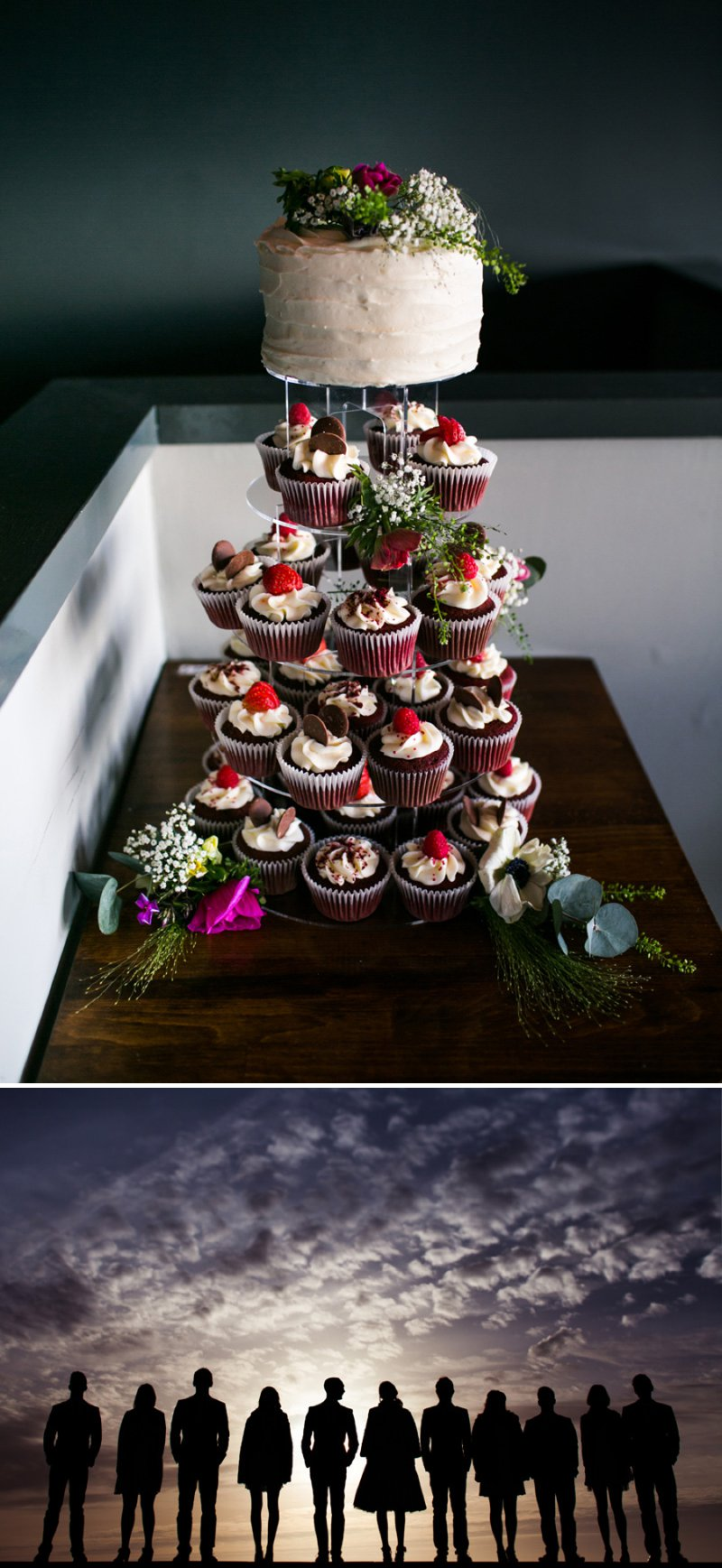 Red Velvet Wedding Cakes Cupcakes