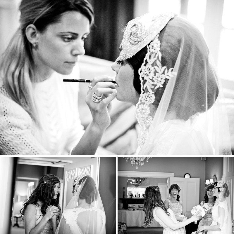 Cheshire Make-up Bridal Make-up Artist Harper and Quinn Wedding Hair