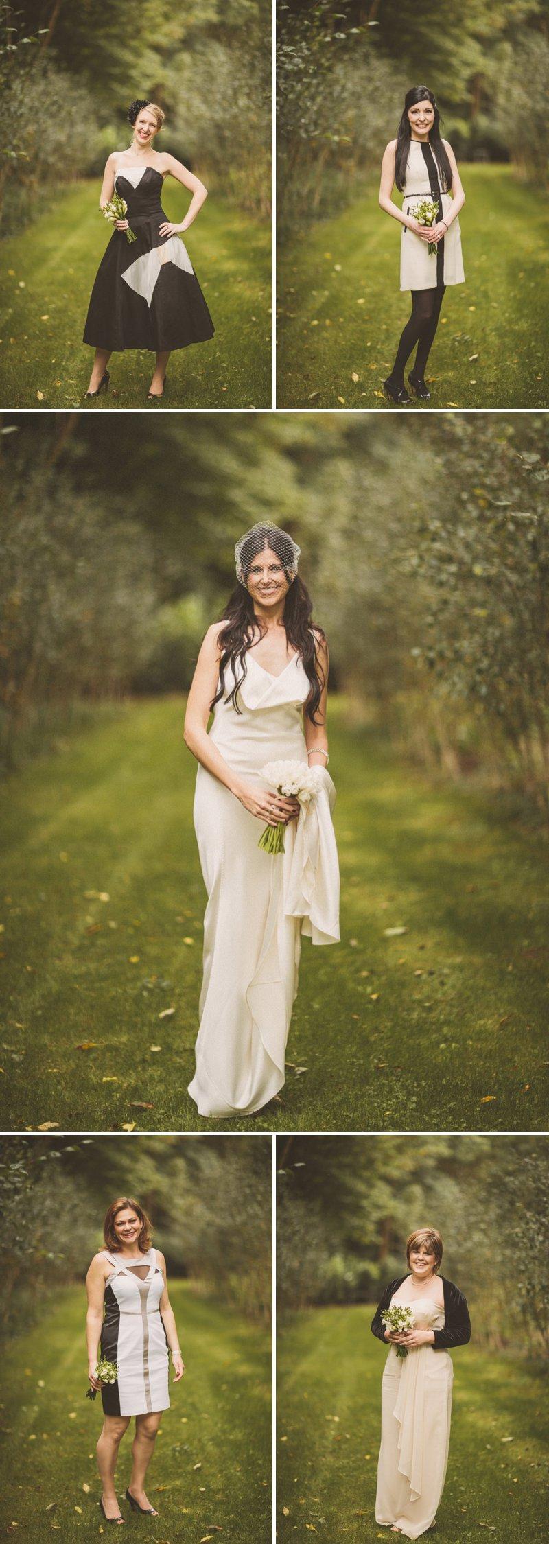 A blushing bride