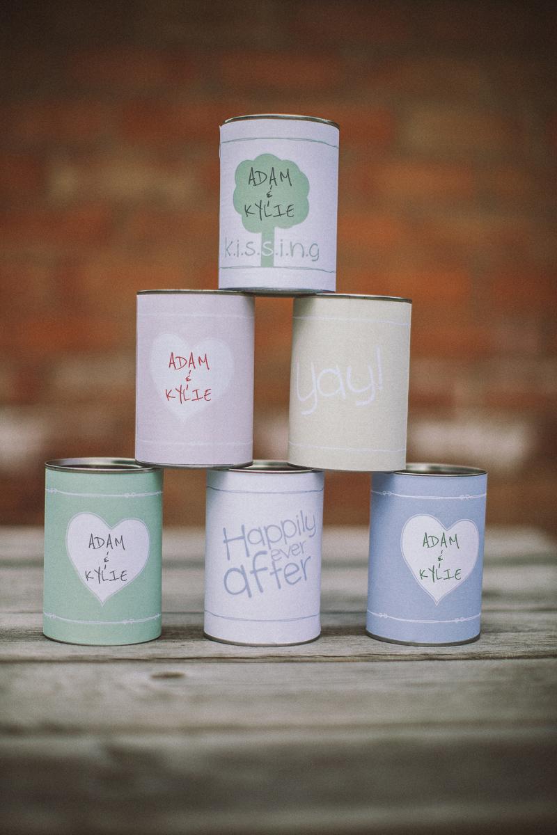 Wedding Car Decorations Tin Cans