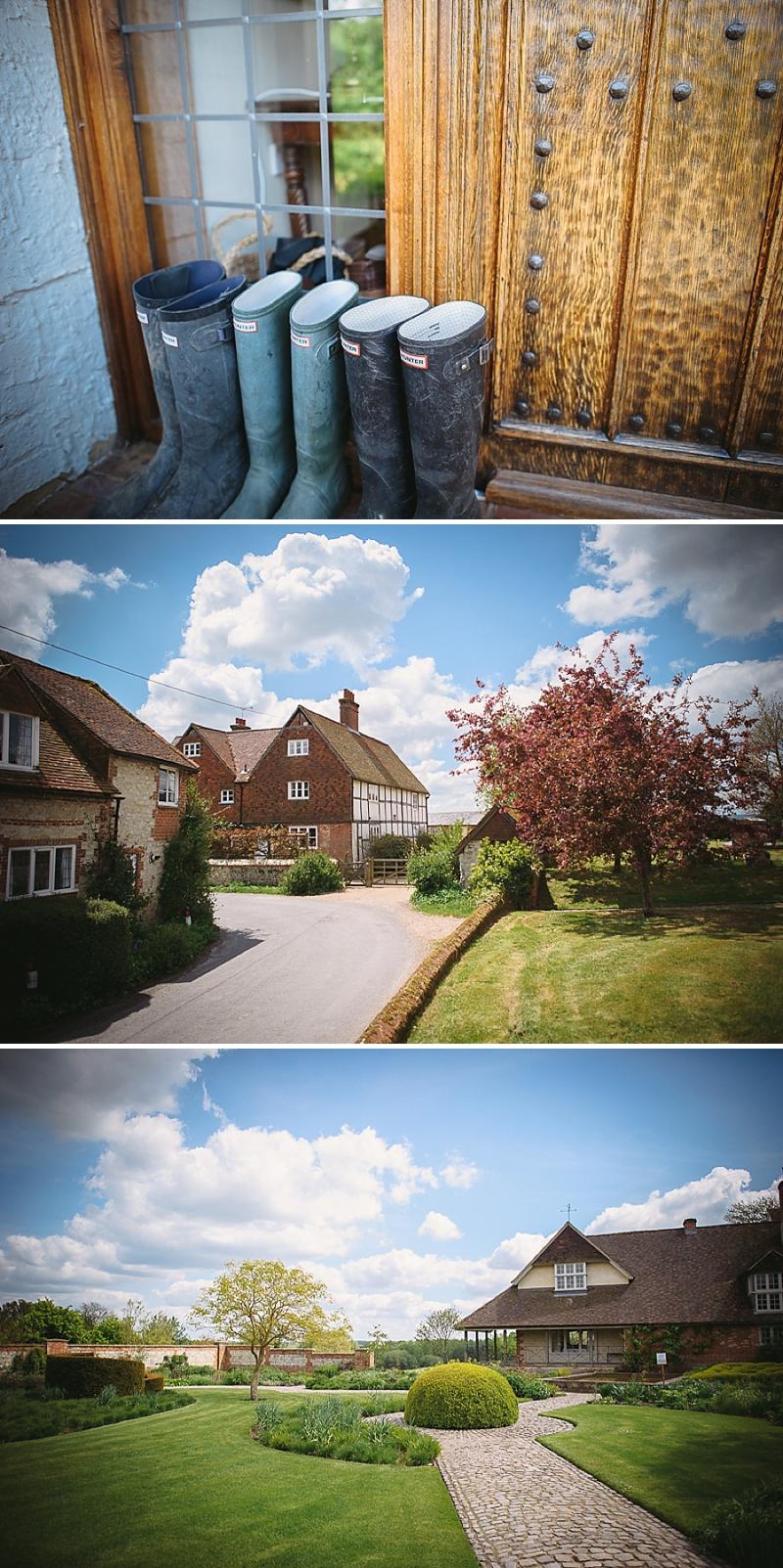 6c2f5b319ef6 An English Country Garden themed Wedding At Bury Court Barn Hampshire
