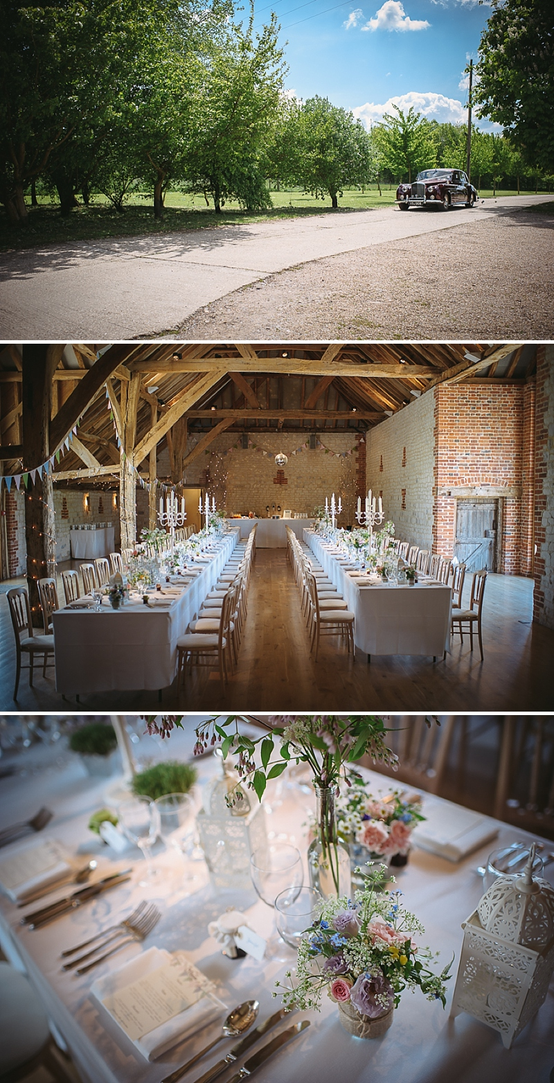 An English Country Garden themed Wedding At Bury Court Barn Hampshire