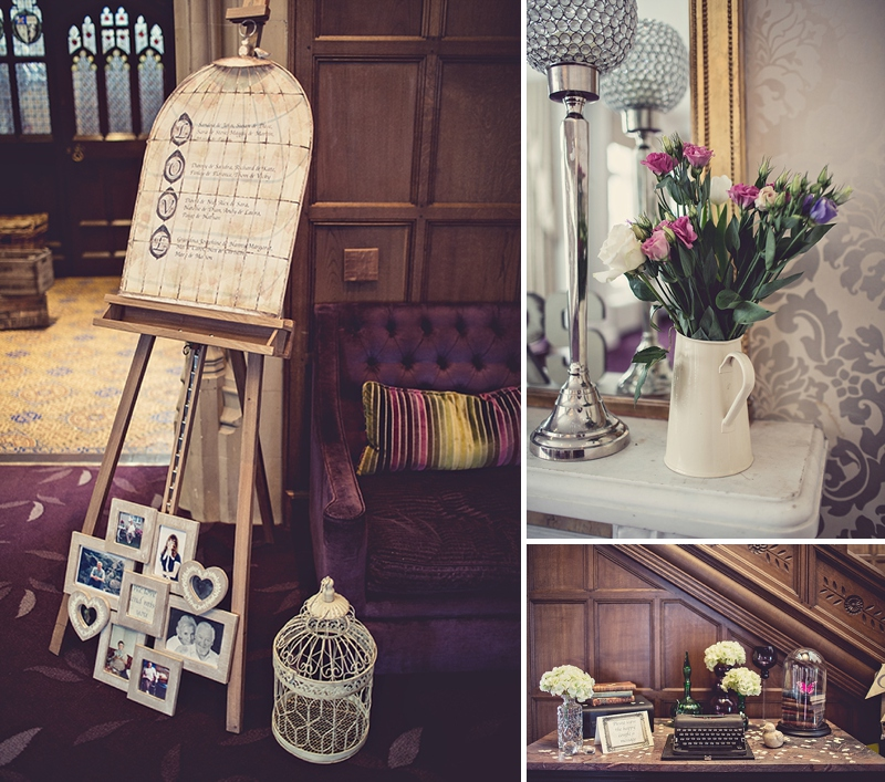A Snowy Spring West Midlands Wedding At Hampton Manor With