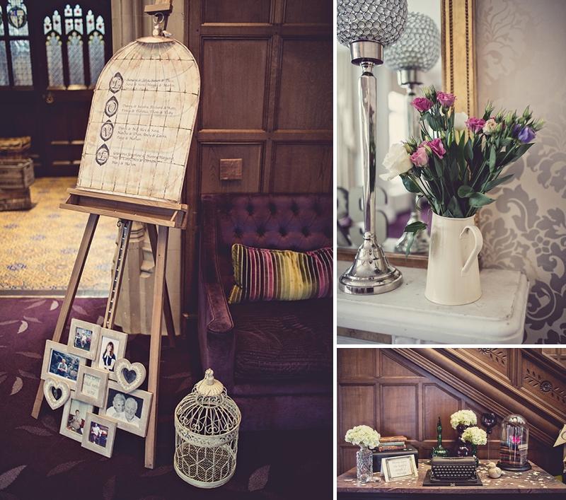 Vintage Wedding Dresses West Midlands: A Snowy Spring West Midlands Wedding At Hampton Manor With