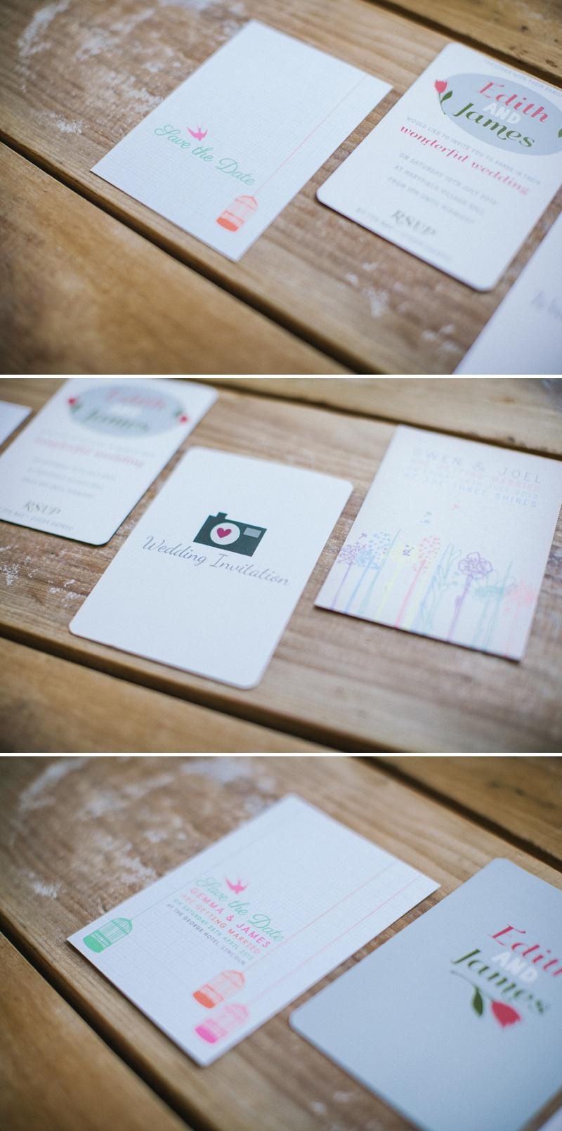 Dottypink Designs Wedding Stationery