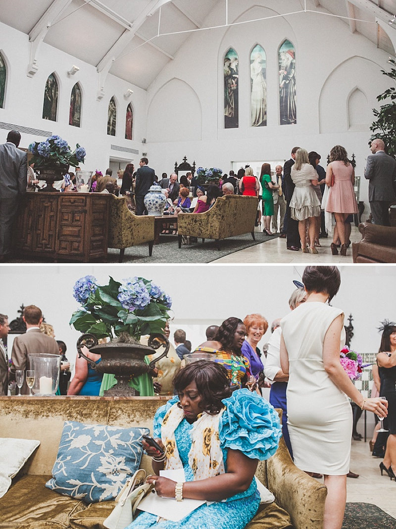 A Colourful Contemporary Wedding At Fazeley Studios, Digbeth, Bride in Justin Alexander Gown, Photography by Jordanna Marston_0008