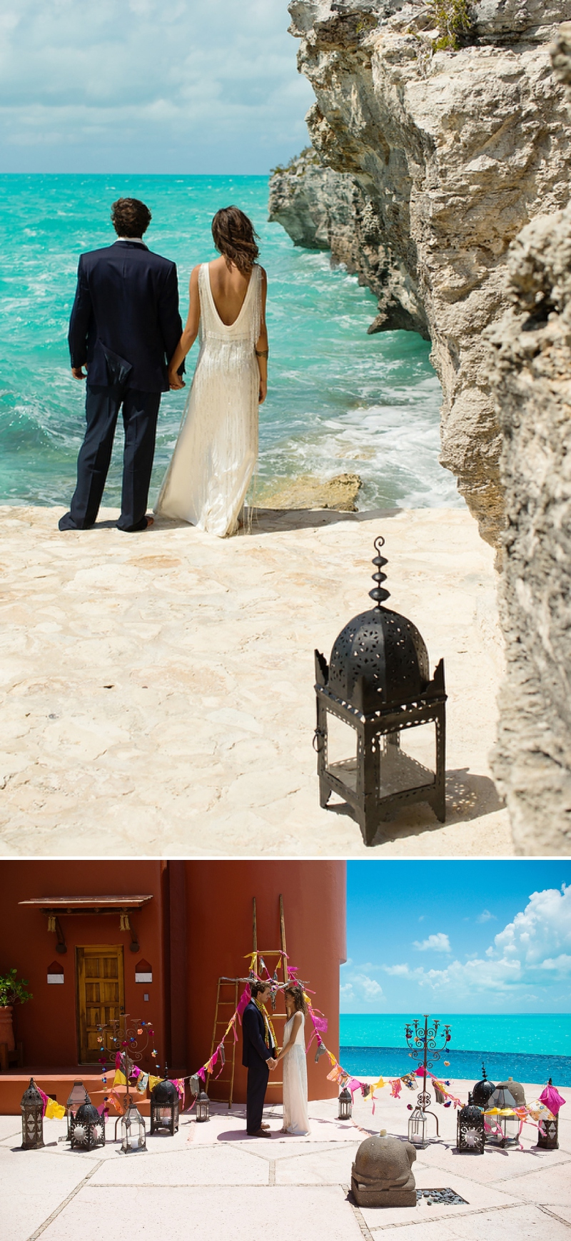 A bohemian beach destination wedding inspiration shoot in Turks & Caicosby Brilliant Studios_0065