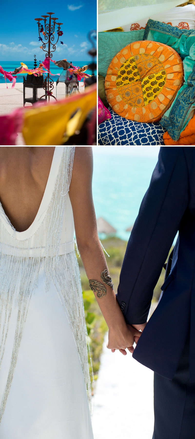 A bohemian beach destination wedding inspiration shoot in Turks & Caicosby Brilliant Studios_0072