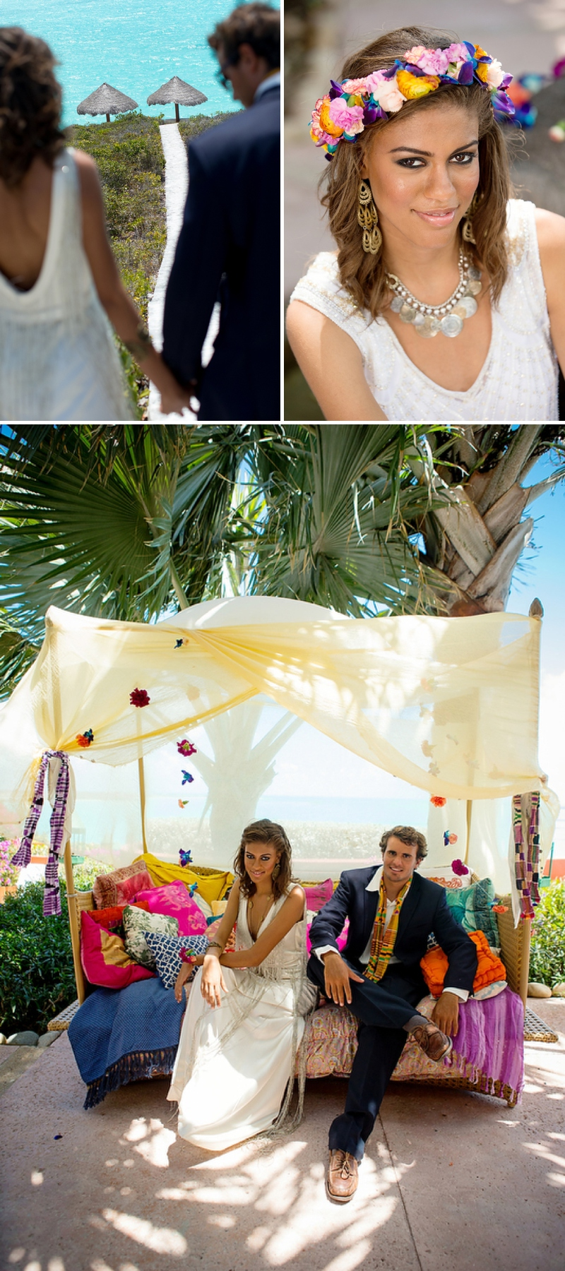 A bohemian beach destination wedding inspiration shoot in Turks & Caicosby Brilliant Studios_0074