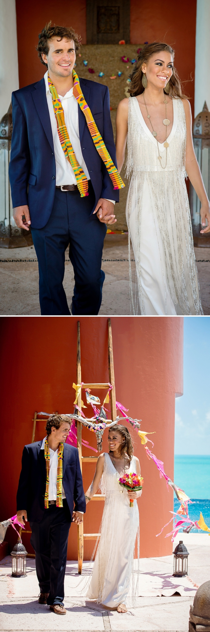 A bohemian beach destination wedding inspiration shoot in Turks & Caicosby Brilliant Studios_0079