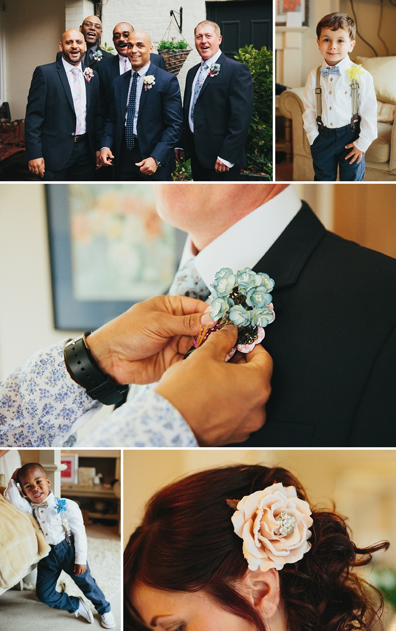 A non traditional wedding at Preston Court with an Essence of Australia wedding dress and vintage retro shabby chic scheme_0003