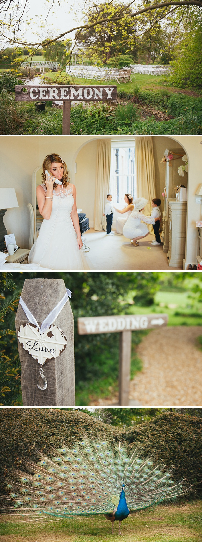 A non traditional wedding at Preston Court with an Essence of Australia wedding dress and vintage retro shabby chic scheme_0004