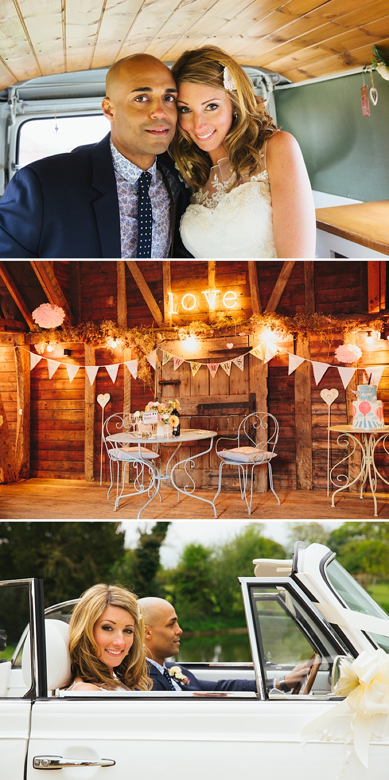 A non traditional wedding at Preston Court with an Essence of Australia wedding dress and vintage retro shabby chic scheme_0011