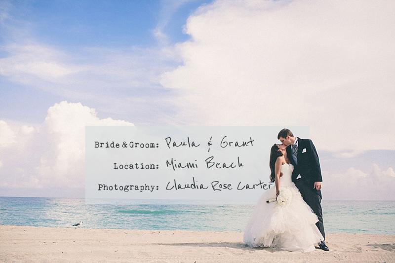 A UK Destination Wedding In Miami Florida USA