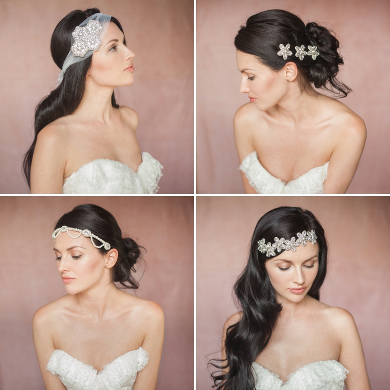 Britten 2014 Liberte Collection vintage inspired bridal wedding accessories headpieces 0150 Timeless And Effortlessly Classic Heirlooms.