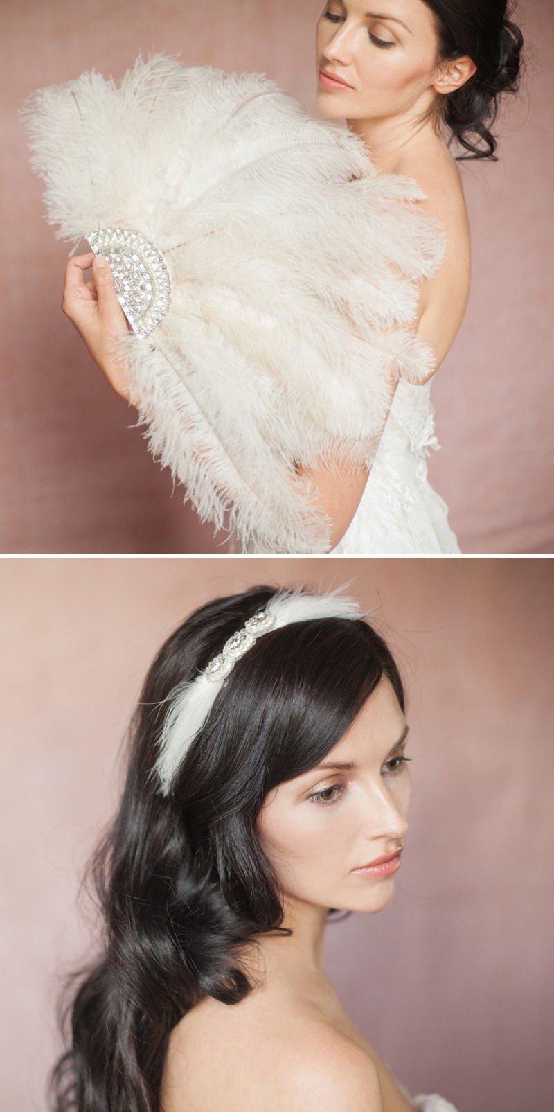 Britten 2014 Liberte Collection vintage inspired bridal wedding accessories headpieces 0154 Timeless And Effortlessly Classic Heirlooms.