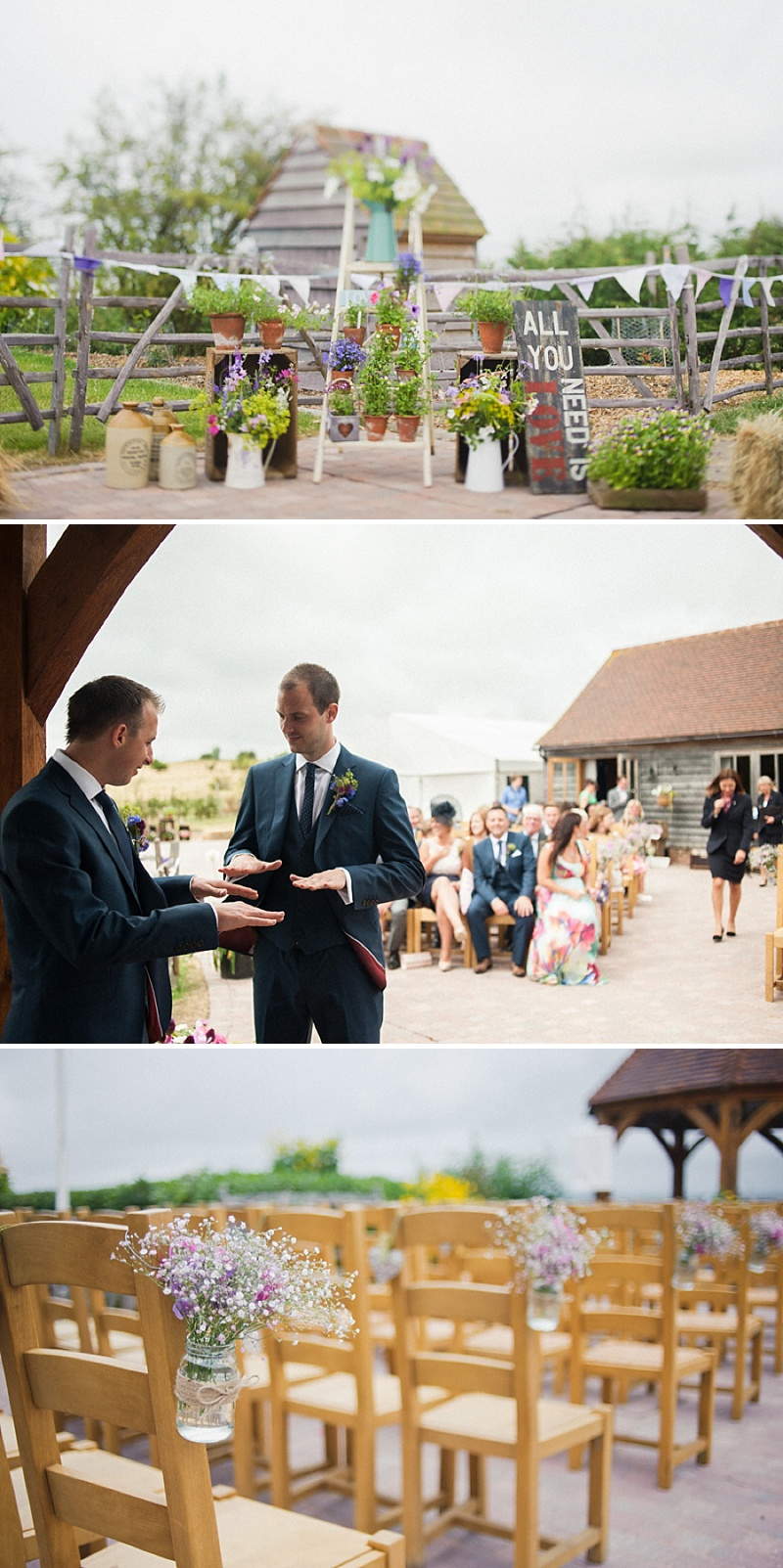 Vintage Inspired Barn Wedding At The Ferry House Inn Kent, Bride In Balta By Pronovias, Images By Hannah-May_0003