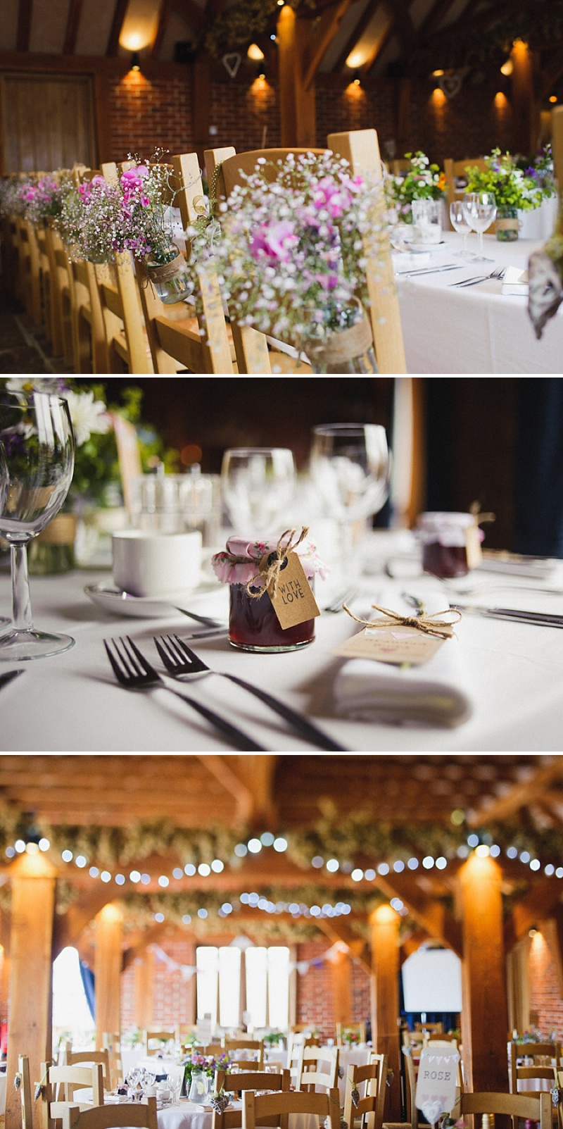 Vintage Inspired Barn Wedding At The Ferry House Inn Kent, Bride In Balta By Pronovias, Images By Hannah-May_0007