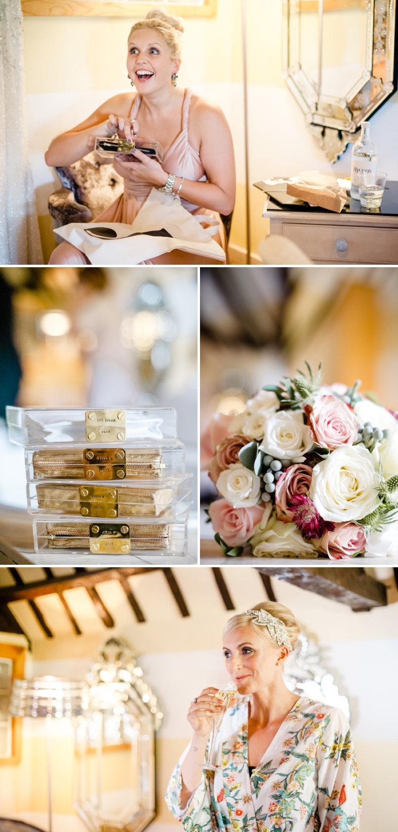 A Beautiful Music Inspired Wedding At The Crazy Bear In Stadhampton With A Jenny Packham Esme Wedding Dress and A Pink And Cream Avalanche Rose Bouquet._0002