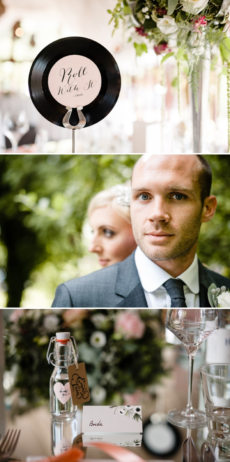A Beautiful Music Inspired Wedding At The Crazy Bear In Stadhampton With A Jenny Packham Esme Wedding Dress and A Pink And Cream Avalanche Rose Bouquet._0012