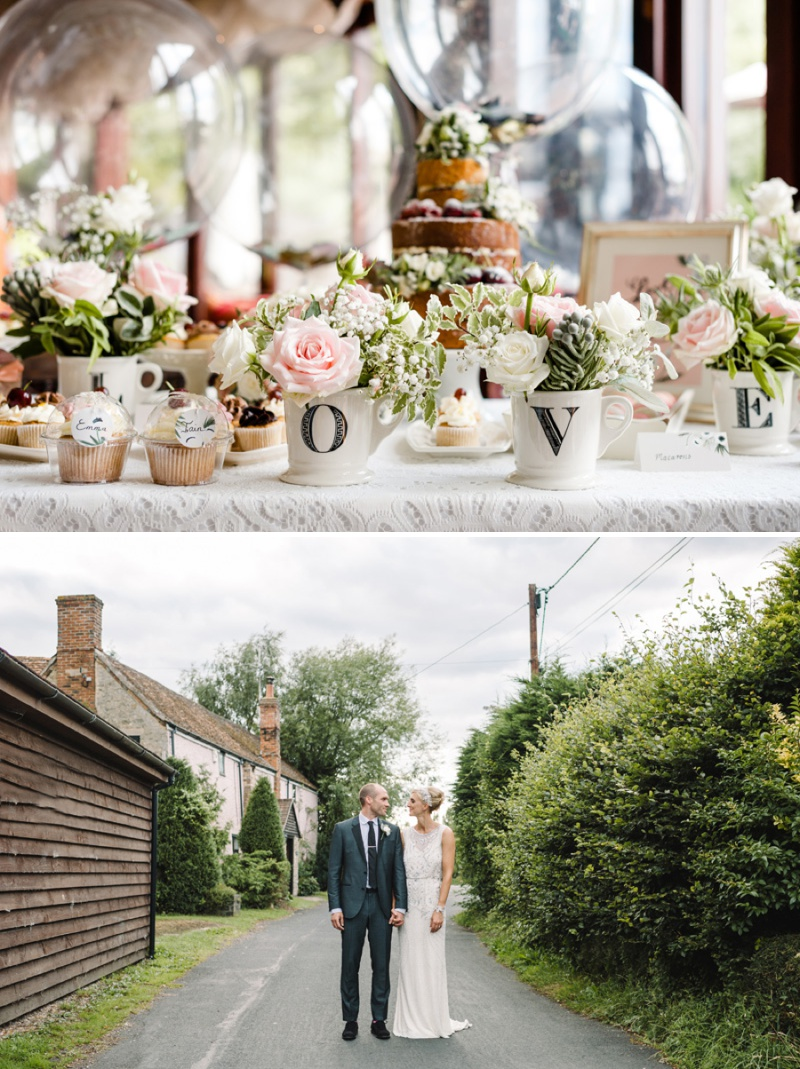 A Beautiful Music Inspired Wedding At The Crazy Bear In Stadhampton With A Jenny Packham Esme Wedding Dress and A Pink And Cream Avalanche Rose Bouquet._0015