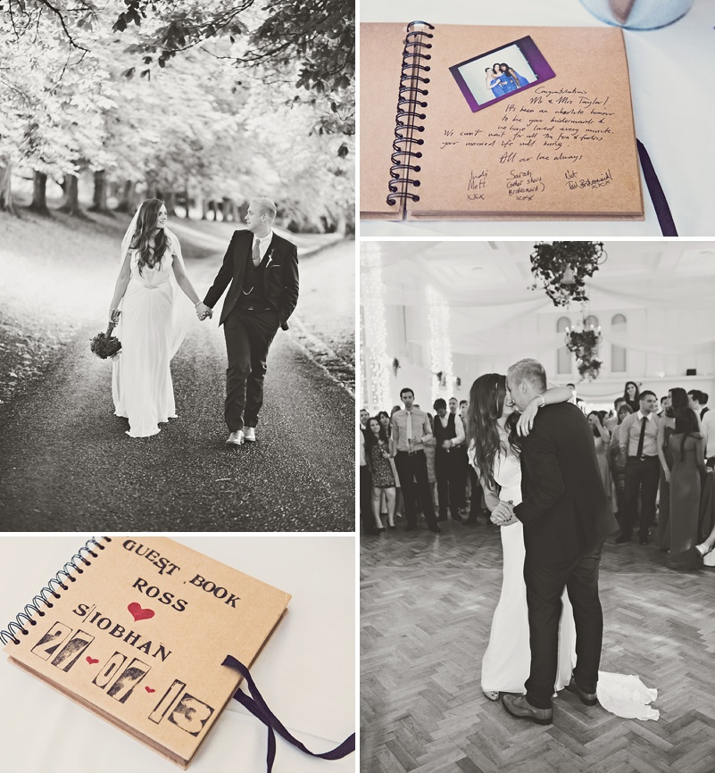 A Purple And Ivory Contemporary Wedding At Kilshane House In Tipperary Ireland With Bride In Aspen By Jenny Packham And Nude Christian Louboutin Peeptoes Images By Claire Penn_0013
