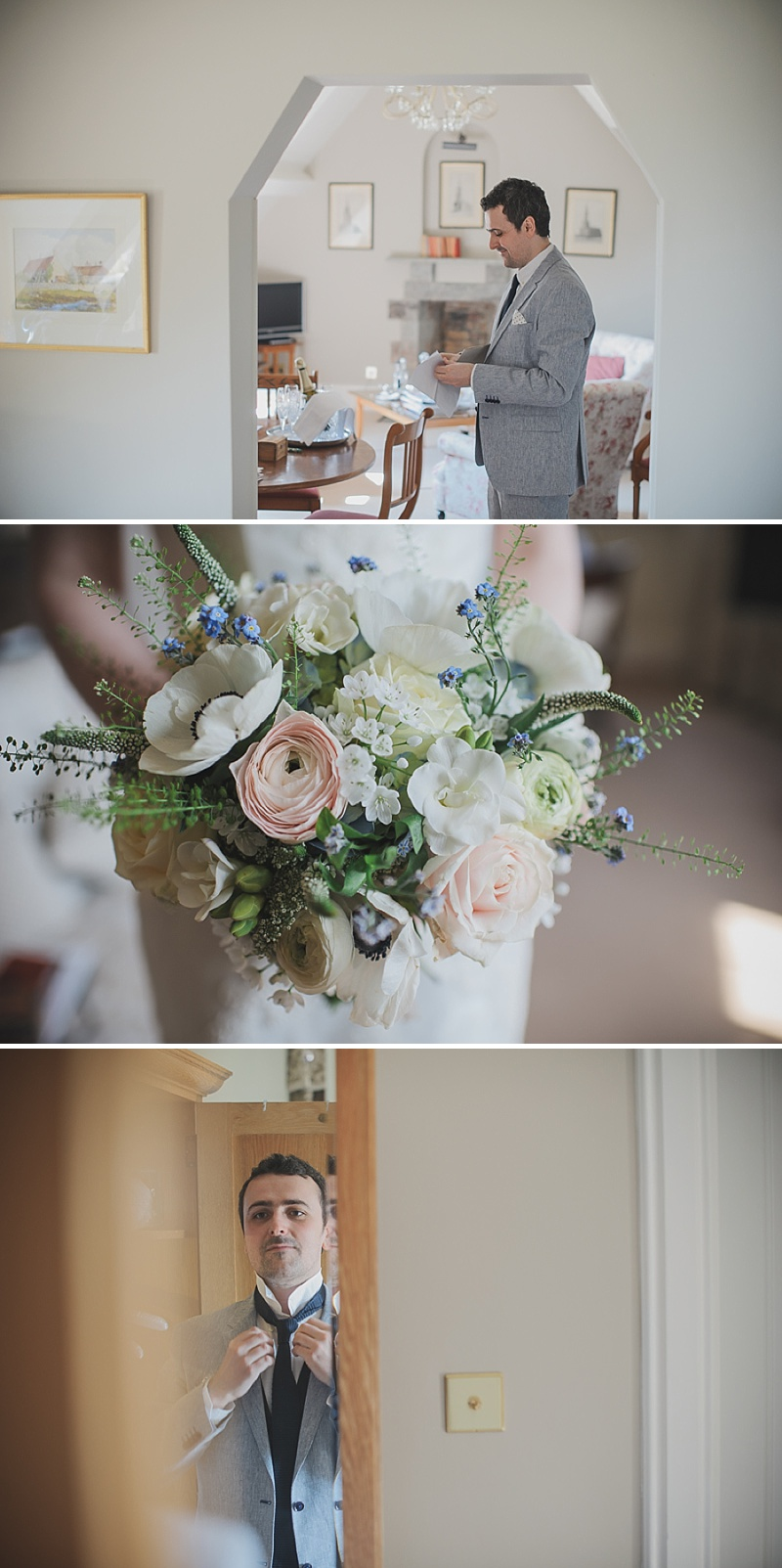 A Simple Contemporary Welsh Wedding With Blue colour Scheme And Provonias Dress_0004
