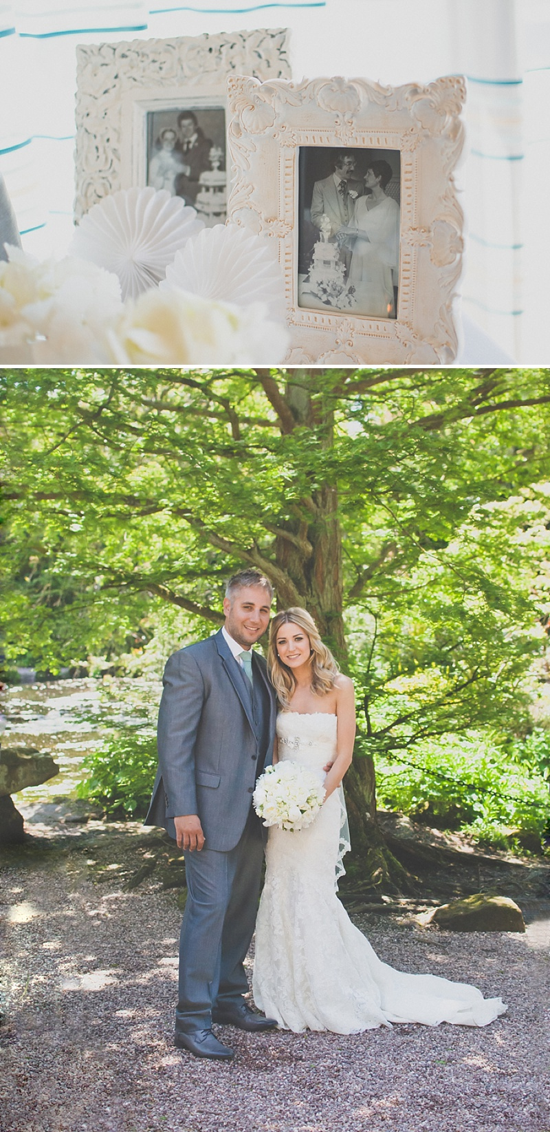 An Elegant White Themed Wedding At The Ness Botanic Gardens With Bride In Champagne From Blue By Enzoani With Aldo 'Corinne' Shoes Images By Rivington Photography_0025