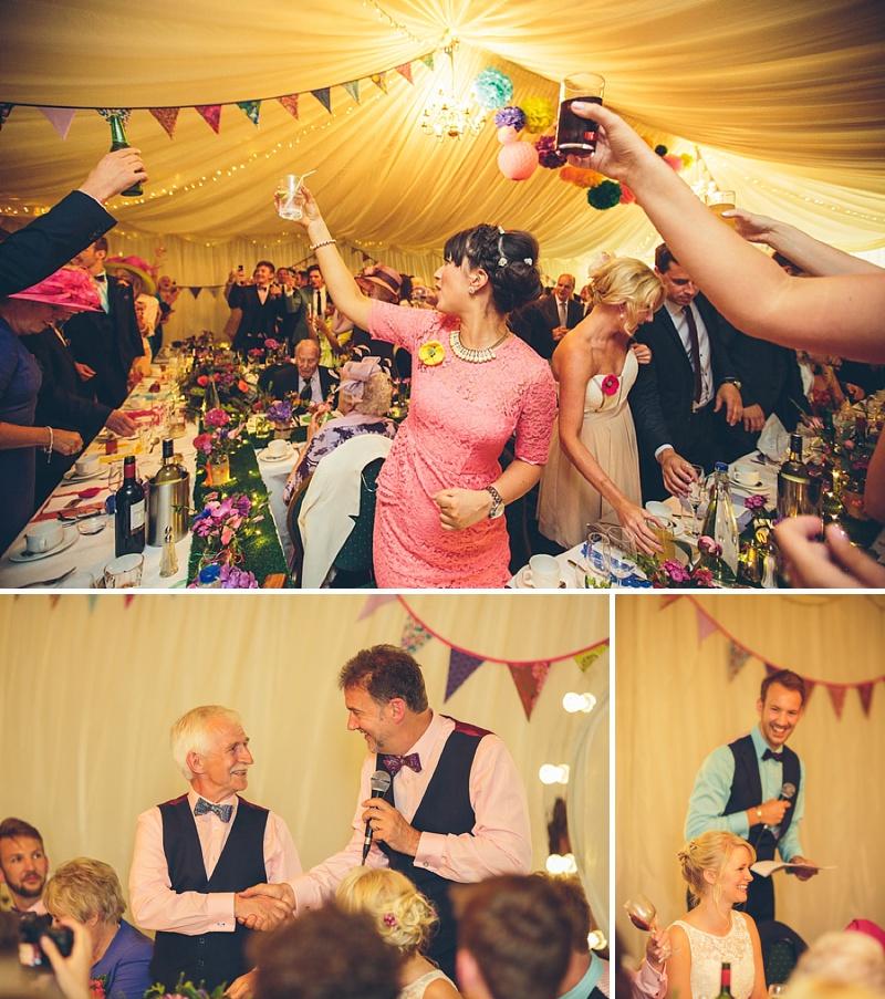 Colourful Rustic Wedding At The Rickety Barn