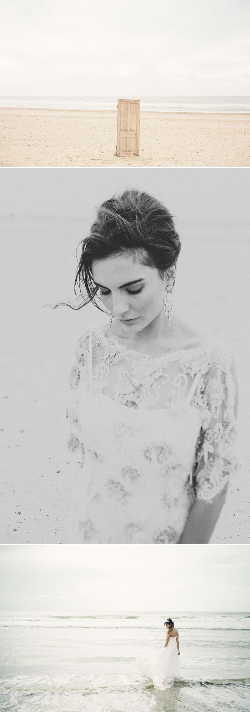 Mermaid wedding inspiration at Camber Sands by Gary Lashmar 0241 I Believe In Mermaids   The Fashion.