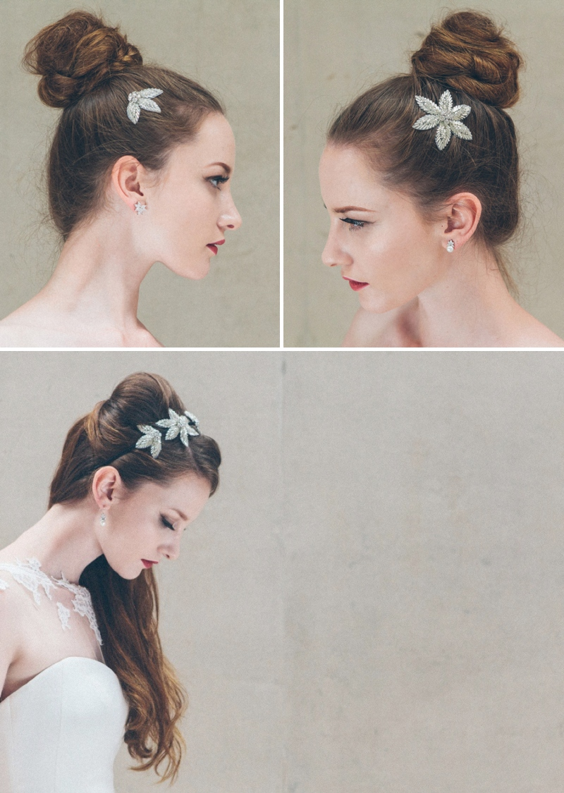 The Debbie Carlisle Adagio Collection Of Bridal Headpieces 2014 0202 The Adagio Collection   Inspired By The Ballet.