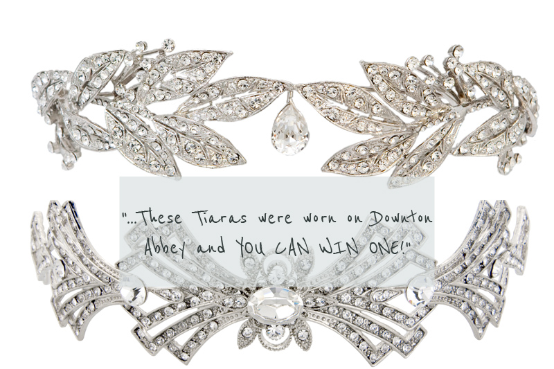 Tiaras as worn on Downton Abbey by Glitzy Secrets I Want to Look Like Lady Mary Crawley.