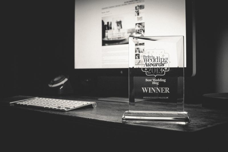 Rock My Wedding Win Best Wedding Blog Award 2013