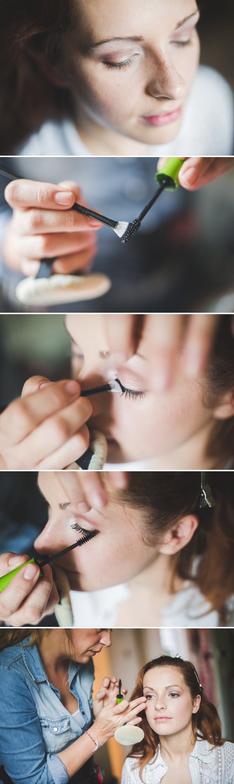 A Bridal Beauty Tutorial Showing Brides How To Create The Perfect Berry Lip and Metallic Eye For Their Wedding Day._0012