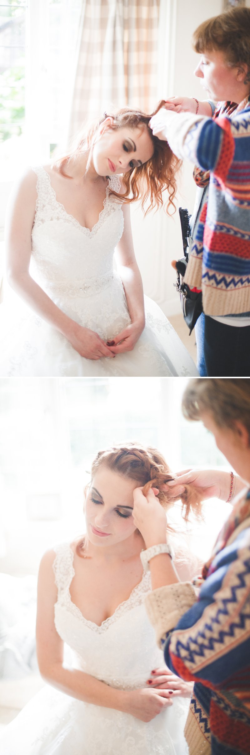 A Bridal Hair Tutorial Showing Brides How To Create Perfect Tousled ...