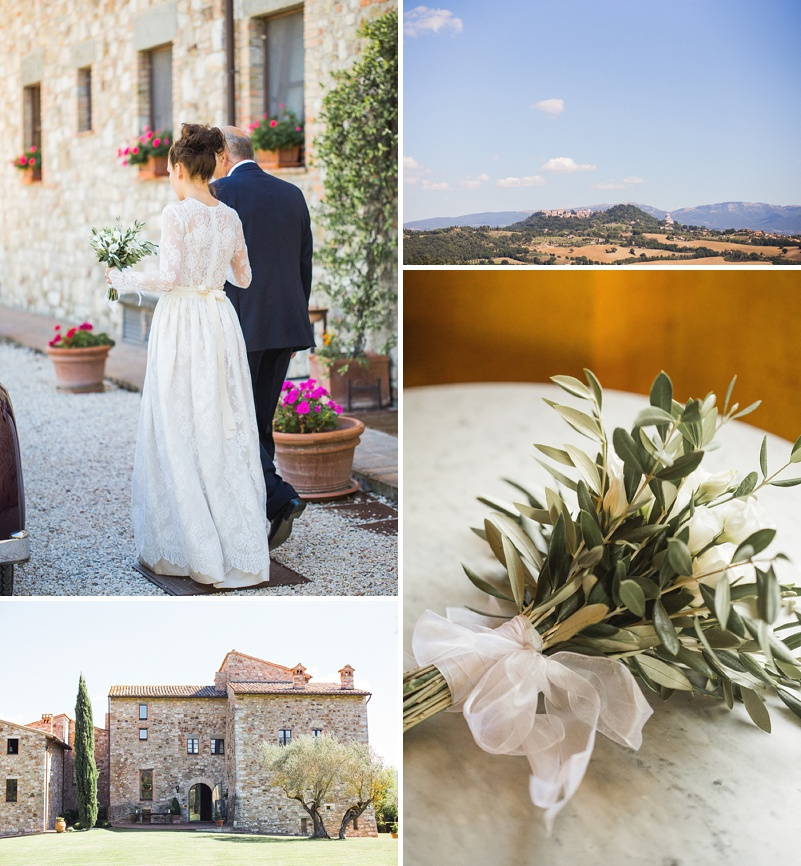 A Italian Destination Wedding In Tuscany with a Katya Katya Shehurina dress. 0002 A Tuscan Treasure