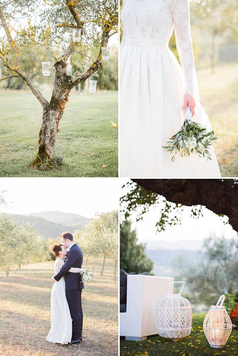 A Italian Destination Wedding In Tuscany with a Katya Katya ...