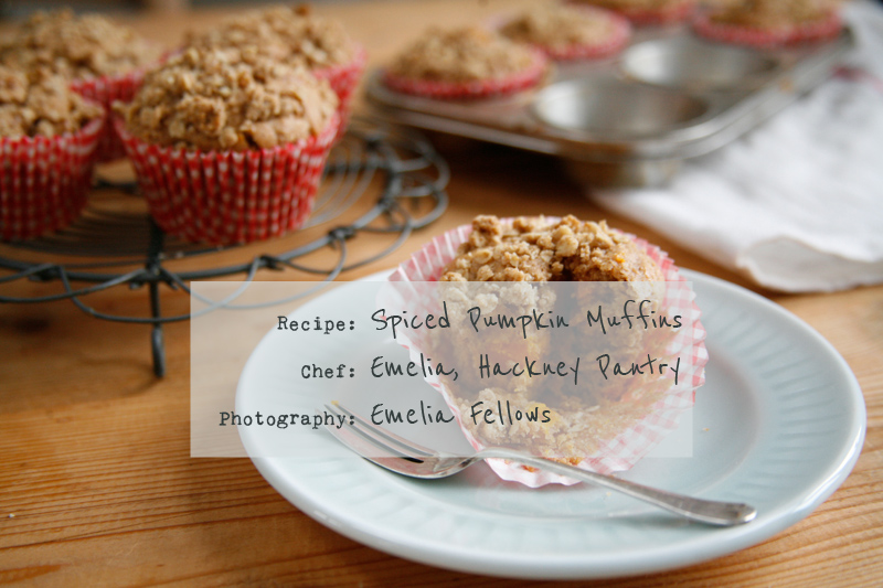 A Quick and easy recipe for spiced Pumpkin crumble muffins Friday Food   Spiced Pumpkin Crumble Muffins.