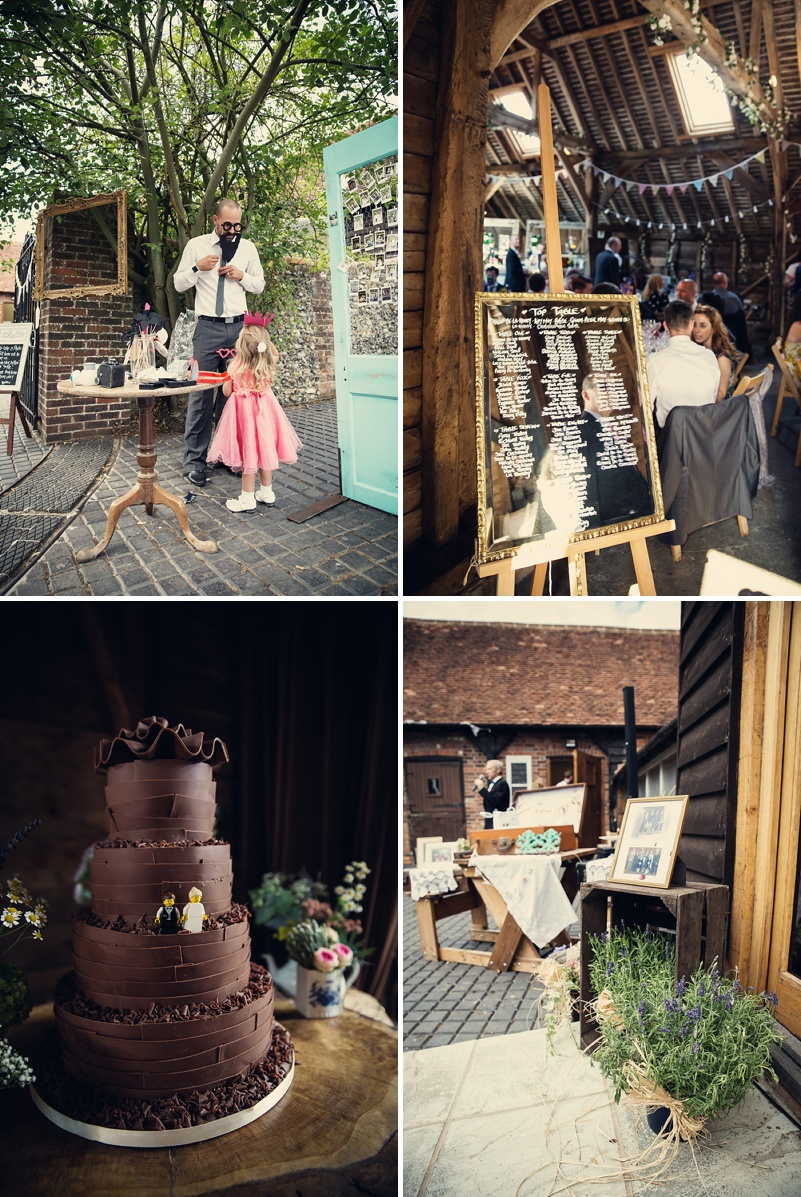 A Rustic Farm Wedding In Berkshire With Bride In Kelly By Stephanie Allin And Bridemaids In Mint Green With A Chocolate Wedding Cake From M&S Images From Assassynation_0010
