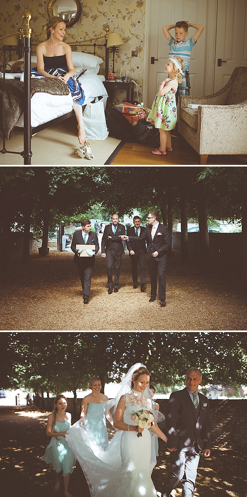 A Secret Garden Party Style wedding in Peterborough with a lace ...