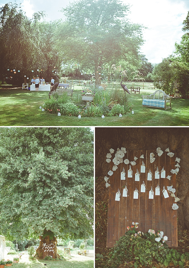 A Secret Garden Party Style Wedding In Peterborough With A Lace