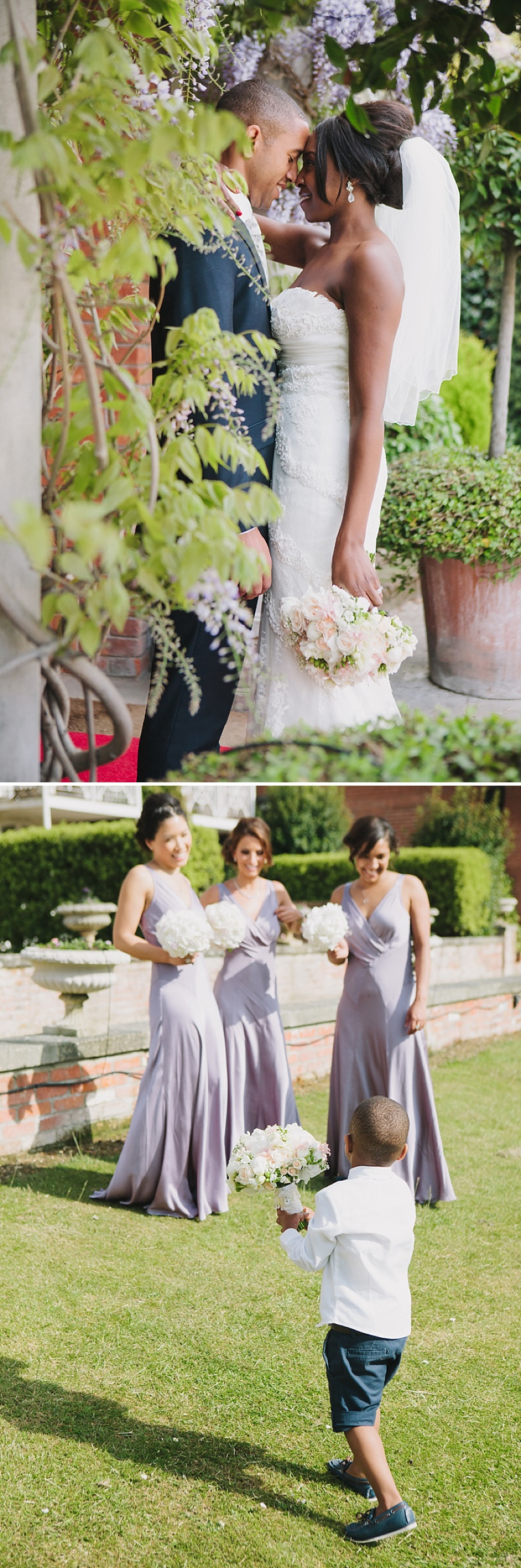 An Elegant Wedding In Dorset With Lilac Accents Bride In Dietrich By Pronovias With Vita By Jimmy Choo Sandals And Bridesmaids In Silver And Lilac Ghost Dresses Images By Hayley Savage_0010