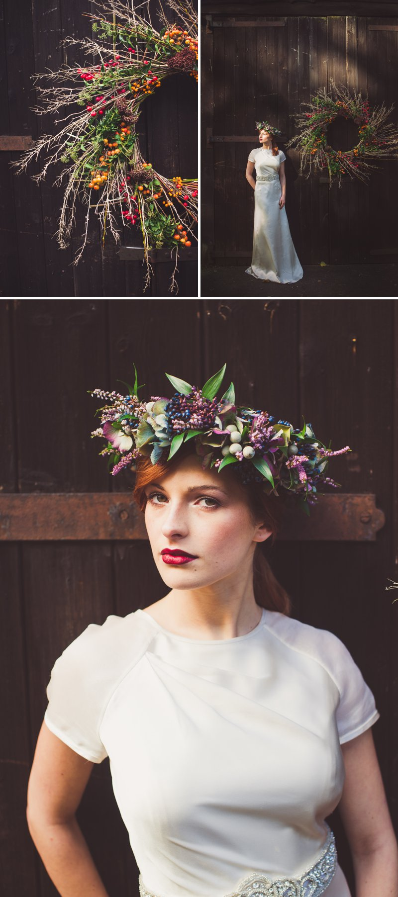 Autumn Fall Inspired Wedding Decor and Fashion Editorial by Rock My Wedding With Florals By Mrs Umbels, Make-up By Claire Salter Photographed By Rebekah J Murray._0003