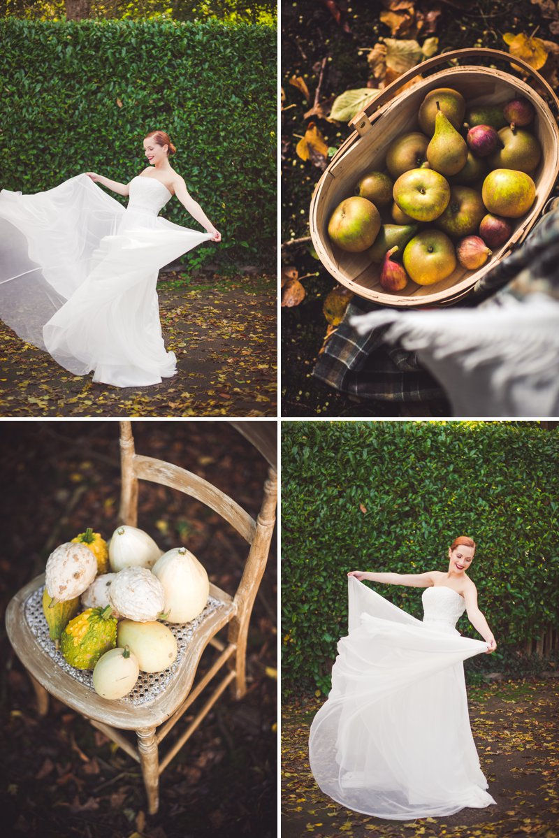Autumn Fall Inspired Wedding Decor and Fashion Editorial by Rock My Wedding With Florals By Mrs Umbels, Make-up By Claire Salter Photographed By Rebekah J Murray._0006