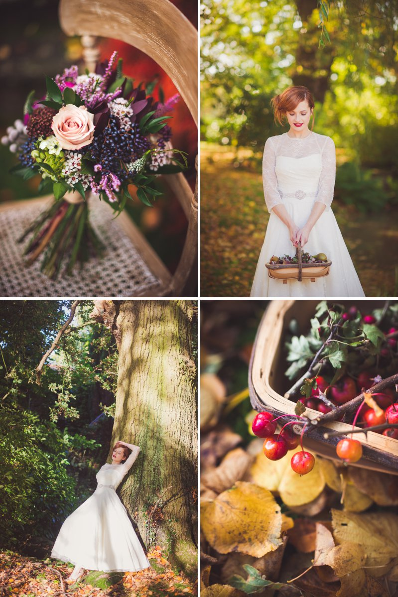 Autumn Fall Inspired Wedding Decor and Fashion Editorial by Rock My Wedding With Florals By Mrs Umbels, Make-up By Claire Salter Photographed By Rebekah J Murray._0007
