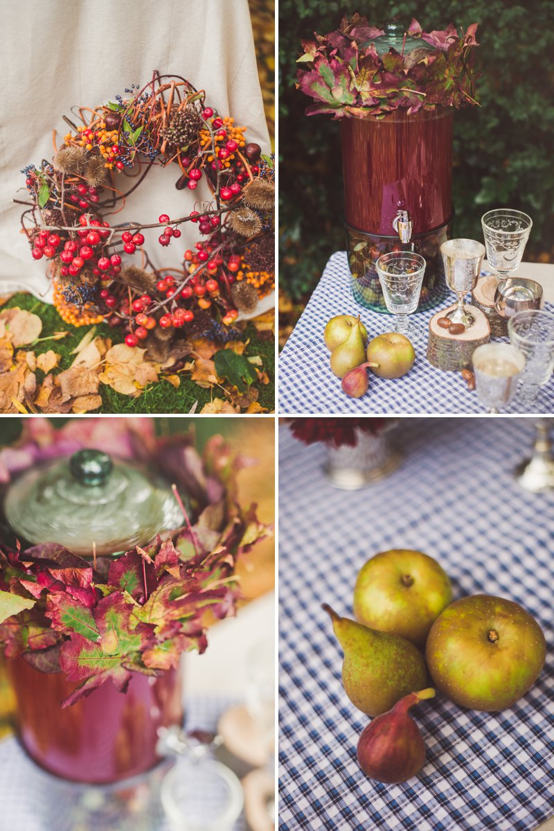 Autumn Fall Inspired Wedding Decor and Fashion Editorial by Rock My Wedding With Florals By Mrs Umbels, Make-up By Claire Salter Photographed By Rebekah J Murray._0018